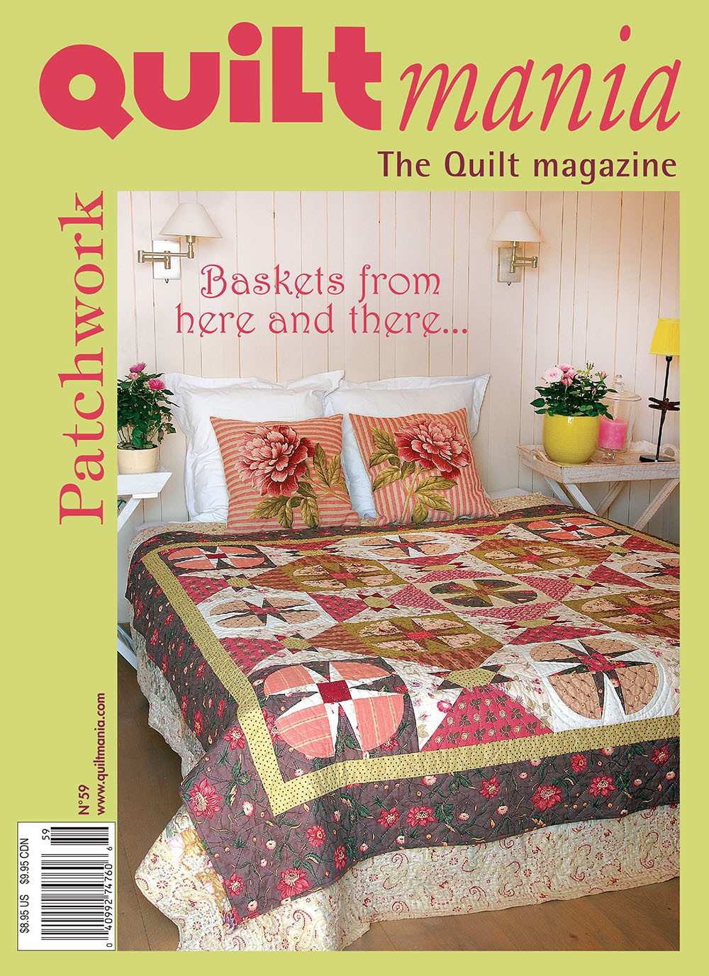 Quiltmania Magazine 59 Quiltmania Inc