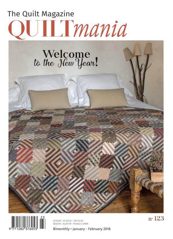 Quiltmania magazine 123