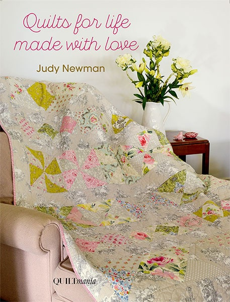 Cover of the Quilting book Quilt for Life made with Love by Judy Newman