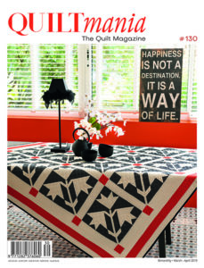 quiltmania magazine #130 cover