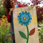 Quilt Pattern Blue Mountain Daisy by Rachaeldaisy