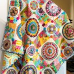 Pattern quilt Merry Whizz by Rachaeldaisy