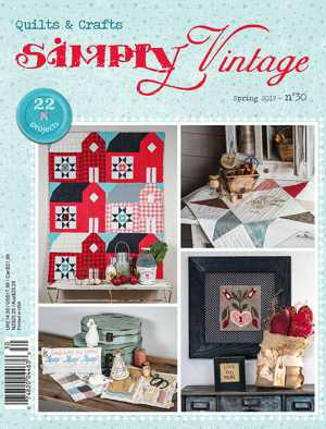 Simply Vintage Cover Spring 2019 number 30 issue
