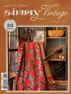 Cover-GB-quilt-patchwork-magazine-simply-vintage-32-fall-2019