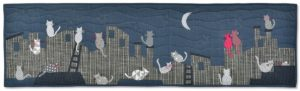 At night All the Cats are Grey Quilt Pattern