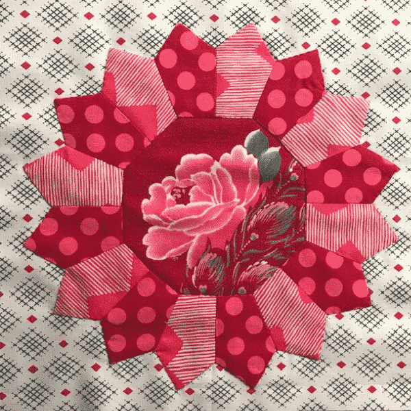 Solidarity Quilt Block designed by Chris Jurd