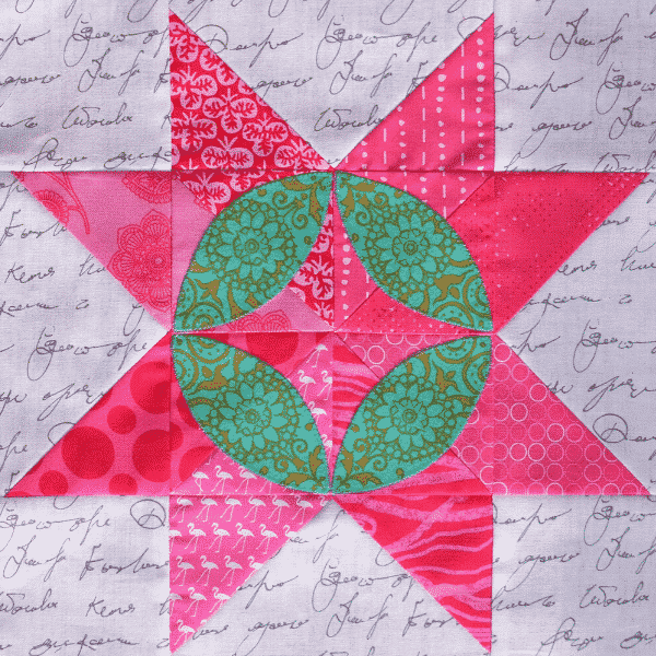 Solidarity Quilt Block designed by Michelle Marvig