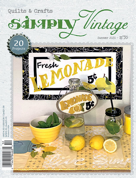 Simply Vintage 35 summer issue
