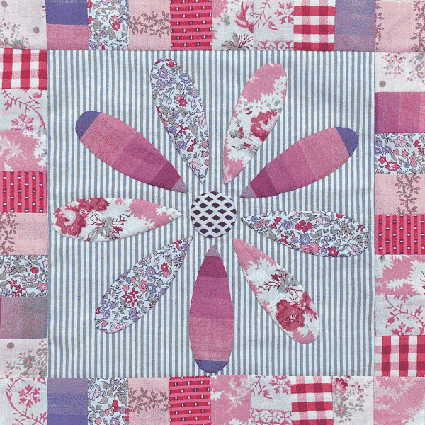 Solidarity Quilt Block designed by Sophie Dawson