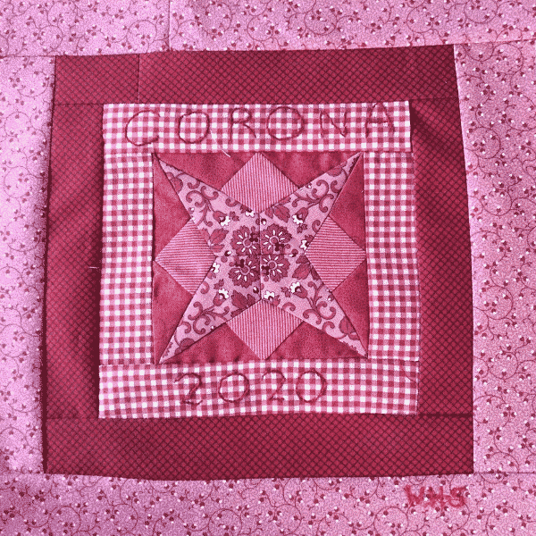 Solidarity Quilt Block designed by Willyne Hammerstein