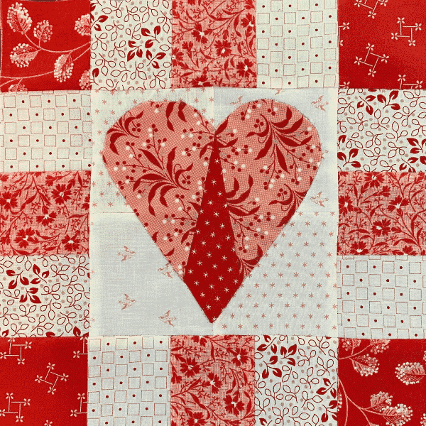 Solidarity Quilt Block designed by Robin Long