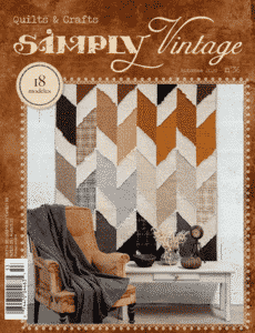 Simply Vintage 36 fall issue