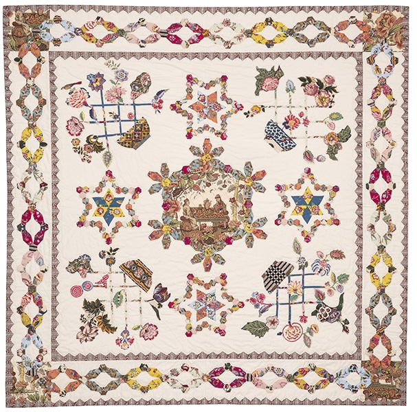 Dutch Baskets Quilt - Brigitte Giblin - Quiltmania Box 2020