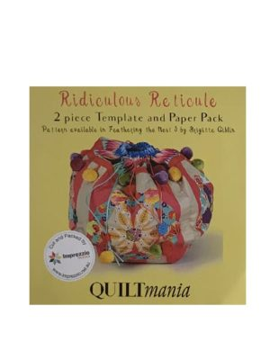 Ridiculous Reticule Templates by Brigitte Giblin