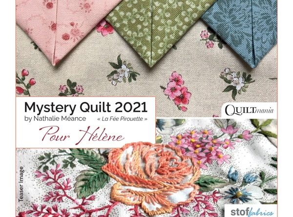 Quiltmania 2021 Mystery Quilt