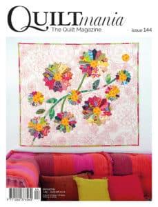 Cover Quiltmania magazine 144