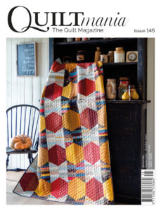 cover Quiltmania magazine 145